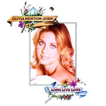 Olivia Newton-John - 70's -Long Live Love by retropopdisco