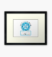 APERTURE SCIENCE AND INOVATION Framed Print
