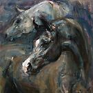 Black Stallion by Nina Smart