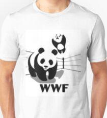 WWF Panda Wrestling (Parody) Unisex T-Shirt