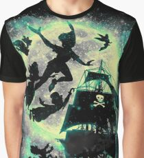 A ship to Neverland Graphic T-Shirt