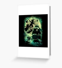 A ship to Neverland Greeting Card