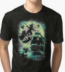 A ship to Neverland Tri-blend T-Shirt