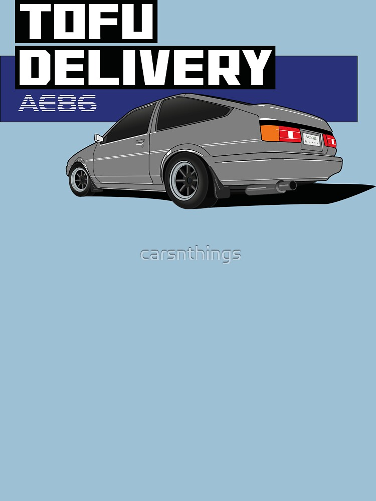 Initial D Tofu Delivery - AE86 by carsnthings