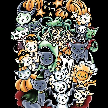 Halloween Cats by Nados