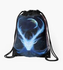 Dreams of Ydalir - Earth Guardian Drawstring Bag