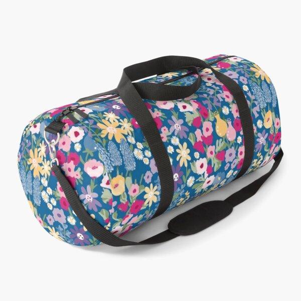 Pretty Cottage Garden pattern Duffle Bag