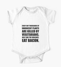 Vegetarians Eat Bacon Kids Clothes
