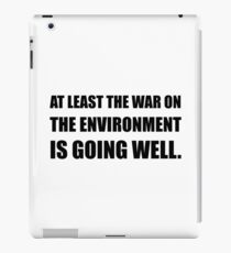 War On Environment iPad Case/Skin