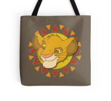 Lion King - Simba Head Tote Bag