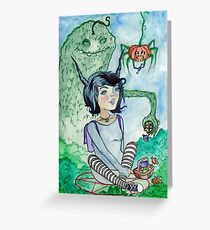 Satanistisches Picknick Greeting Card