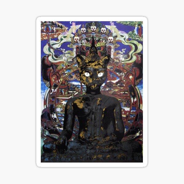 Buddha Cat  Sticker
