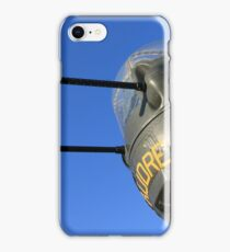 Audre Takes Aim iPhone Case/Skin