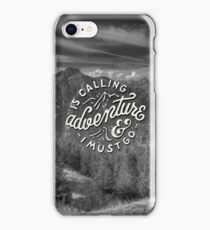 Adventure is Calling iPhone Case/Skin