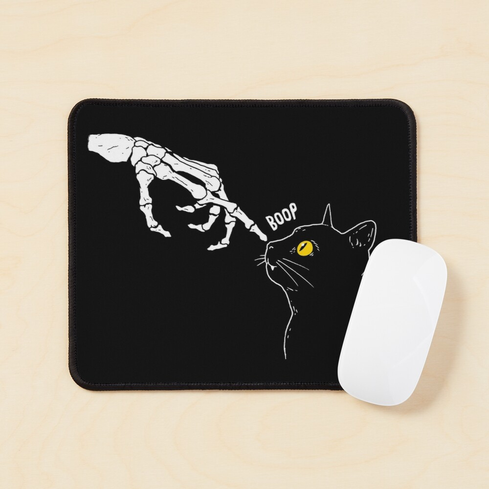 Spooky Boop Mouse Pad