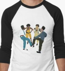It's A House Party!  Men's Baseball ¾ T-Shirt