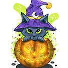 «Halloween Cat» de Sararticum