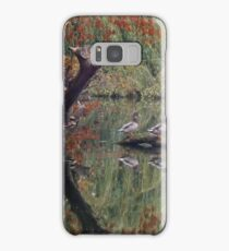 A Couple of Couples (Ducks at Witley)  Samsung Galaxy Case/Skin