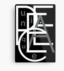 Unique Peace Metal Print