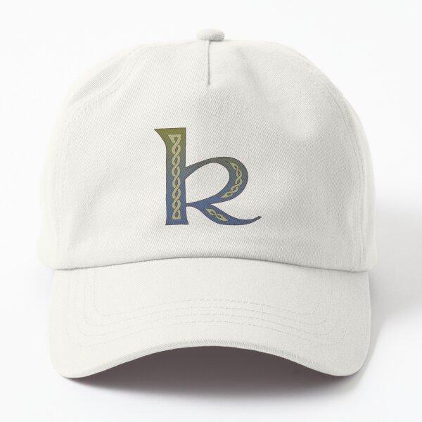 Celtic Knotwork Alphabet - Letter K Dad Hat