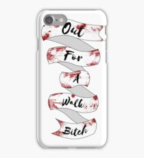 Spike Quote  iPhone Case/Skin