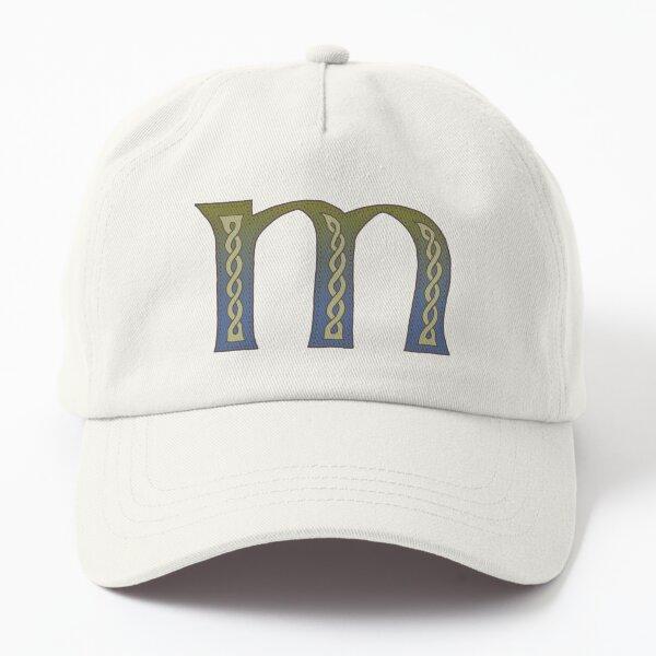 Celtic Knotwork Alphabet - Letter M Dad Hat