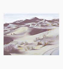Death Valley Sand Dunes Photographic Print
