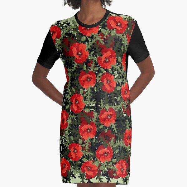 Strauß T-Shirt Kleid