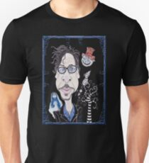 Dark Gothic Fantasy Movies Caricature Drawing Unisex T-Shirt