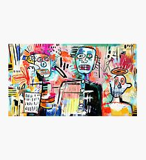 We are Still Philistines, After Basquiat Photographic Print