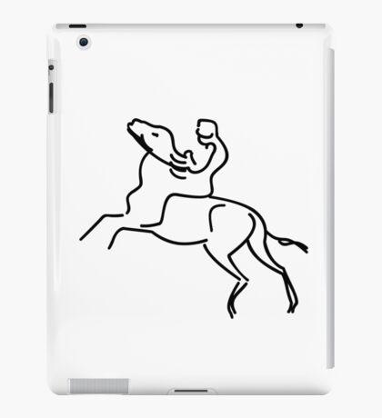 Jockey on a Horse VRS2 iPad Case/Skin