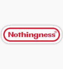Nothingness  Sticker