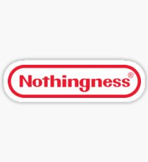 Nothingness  Sticker