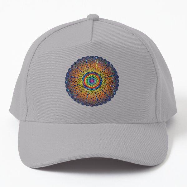 Flower of Life Celtic Mandala Baseball Cap