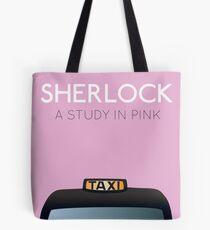 Sherlock - A Study in Pink Tote Bag