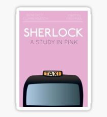Sherlock - A Study in Pink Sticker