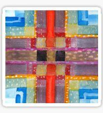 ERQ#2 - Abstract Watercolor by Dan Vera Sticker