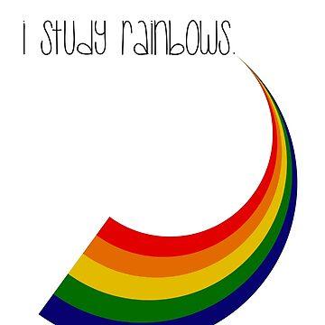 i study rainbows by carolanneroyer