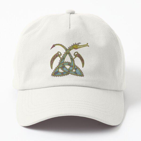 Celtic Triquetra Dragon Dad Hat