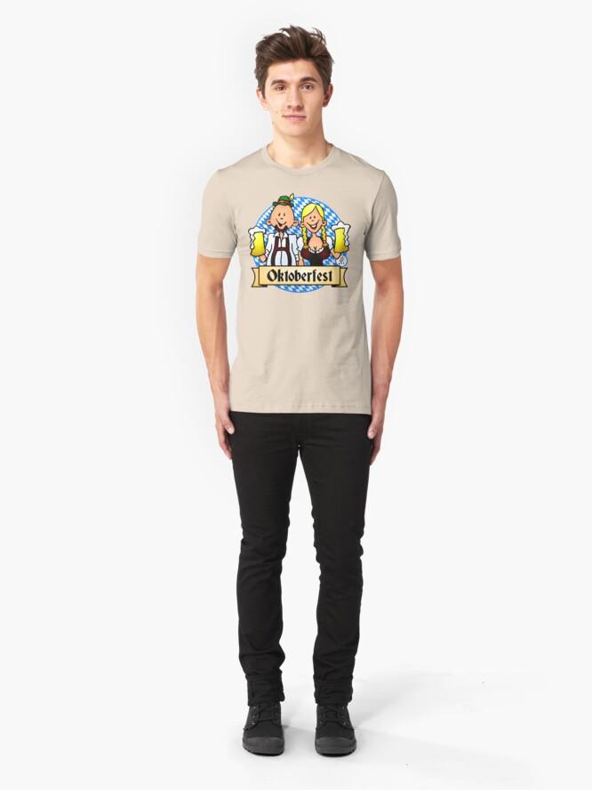 Alternate view of Oktoberfest Slim Fit T-Shirt