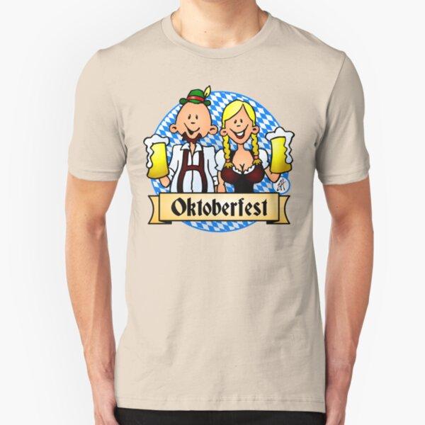 Oktoberfest Slim Fit T-Shirt