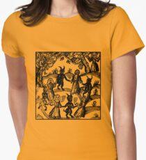 Tanz mit dem Teufel Tailliertes T-Shirt für Frauen