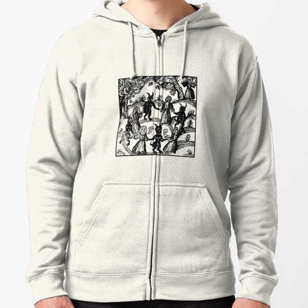 Dance with the Devil  Zipped Hoodie