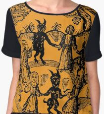 Dance with the Devil  Chiffon Top