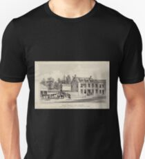 091 Bulls Head in the Bowery between Bayard and Pump Sts now Canal St NY 1783 Unisex T-Shirt