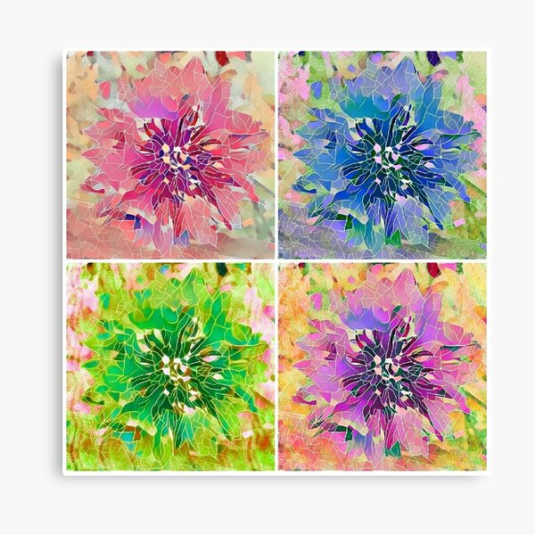 Pastel Petals 1 Canvas Print