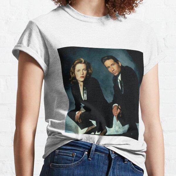 X-Files -Mulder et Scully T-shirt classique
