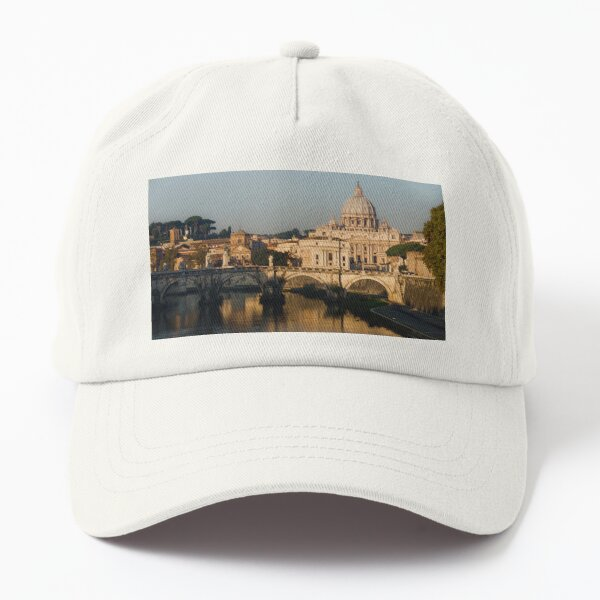 St Peter's Morning Glow - Impressions Of Rome Dad Hat