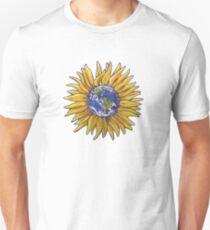 Sunflower Earth Unisex T-Shirt