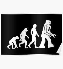 Human Evolution Variant Poster